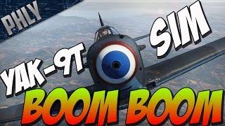 War Thunder Gameplay! YAK-9T Sim - Boom Goes The 37mm War Thunder B...