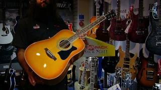 Ibanez V50NJP Acoustic Guitar Package Demo @ PMT
