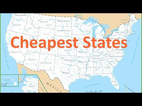 Top 10 Cheapest States To Live In The United States