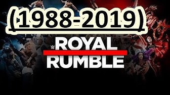 Royal Rumble (1988 - 2019) Winners / Ganadores