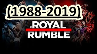 Royal Rumble (1988 - 2019) Winners / Ganadores
