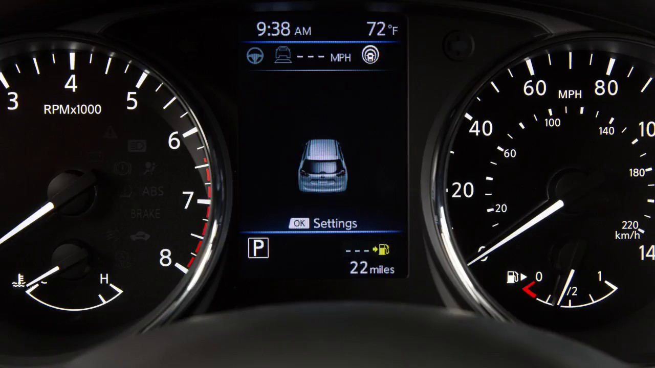 2018 Nissan Rogue Fuel Functions