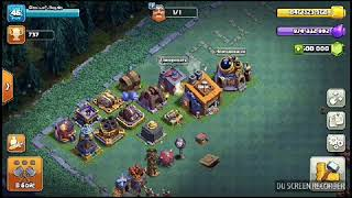 Обзор ночной деревни в приватном сервере Clash of Clans
