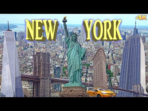 NEW YORK , MANHATTAN - BEST OF NEW YORK 2016 4K