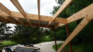Carport On A Mobile Home Youtube