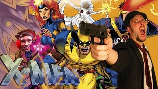 158 Nostalgia Critic - Raiders of the Story Arc X-Men (rus vo G-NighT)