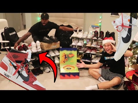 JESSERTHELAZER'S UNBELIEVABLE SNEAKER COLLECTION! Rare Unseen Off White Shoes! 😱😱😱