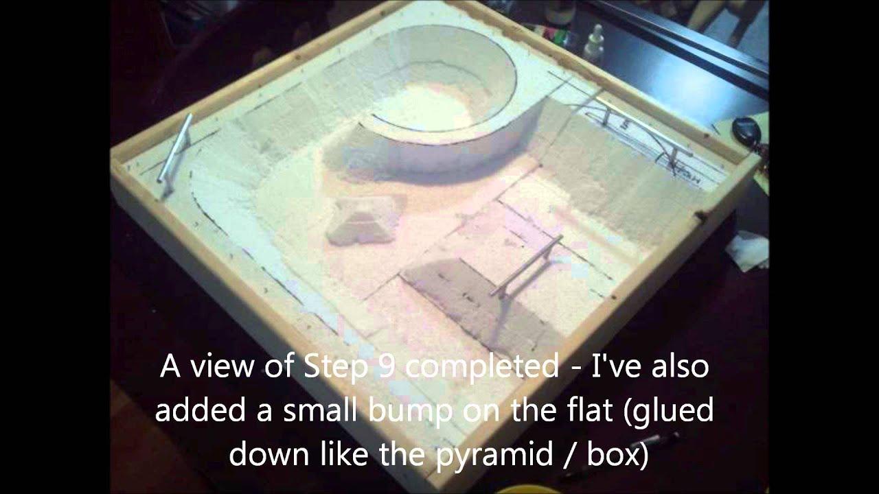 Tech Deck Concrete Diy Skatepark Youtube