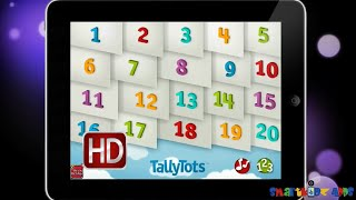 TallyTots Counting by Spinlight Studio-Nice counting App for kids children toddler learning numbers