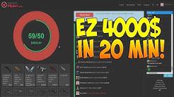 CSGO Hunt EZ 4000$ in 20 min!