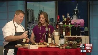 Chef finds perfect appetizers for National Wine Day