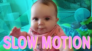 FUNNY Babies and Dogs in Slow Motion! | YOU WILL SMILE!