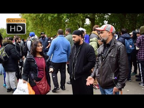 P1 - Come to Christianity!? Hashim Vs Christian Woman | Speakers Corner | Hyde Park