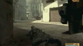 MGS4 Action/Stealth Gameplay