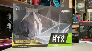 This is what USD 1 700 will get you - ZOTAC GAMING GeForce RTX 2080 Ti AMP Extreme