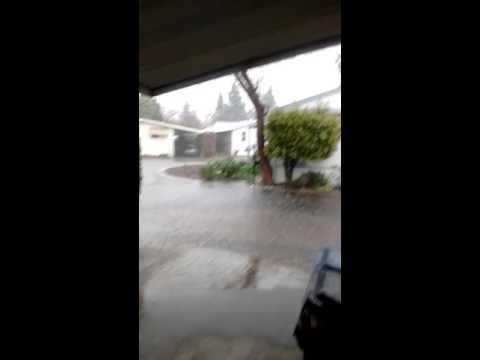 San Fernando valley flooded