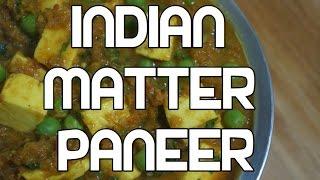 Mattar Paneer Recipe - Peas & Cheese Indian Curry