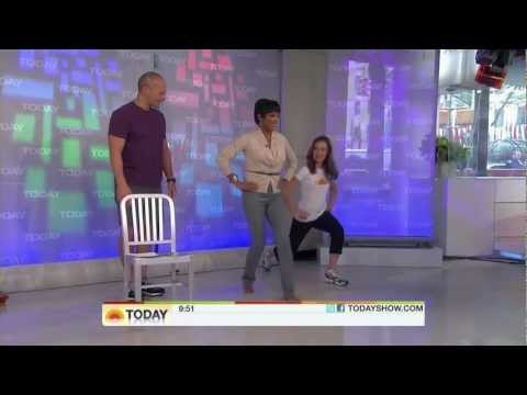 tamron hall - today show shows off feet - oct15,2010