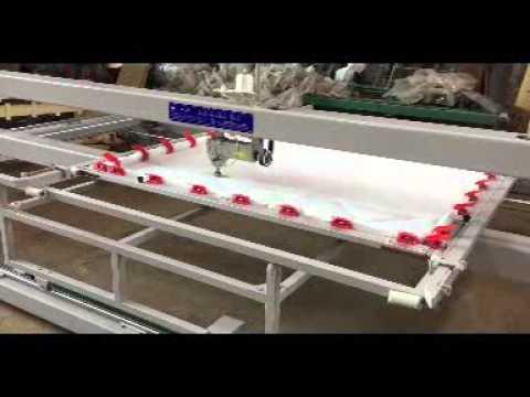 computerized single needle quilting machine - YouTube : single needle quilting machine - Adamdwight.com