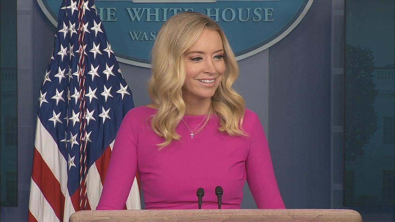 12/02/20: FAKE COVID. Press Secretary Kayleigh McEnany Holds a Press Briefing