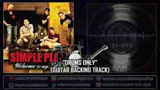 yda welcome to my life drums only guitar backing track simple plan cover