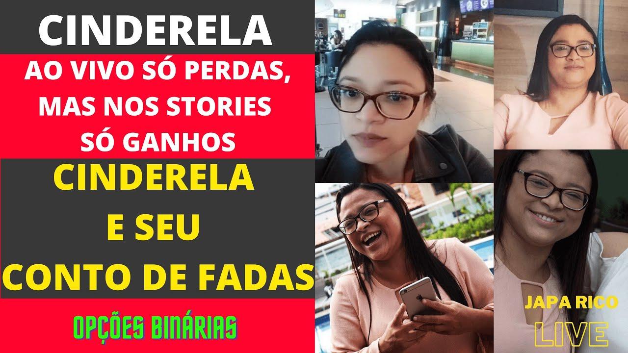 Japa Rico Ao Vivo sobre Cinderela Trader (Francisca Jamille Lima de Oliveira)