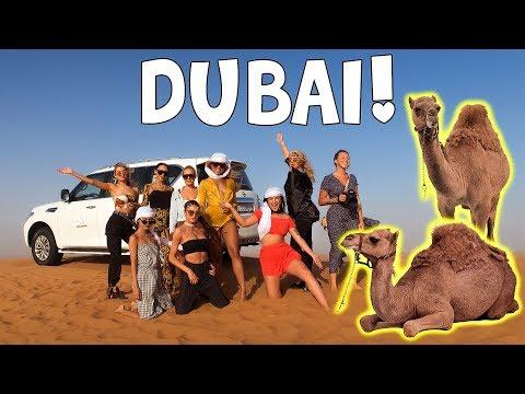 CAMEL RIDING IN DUBAI DESERT!