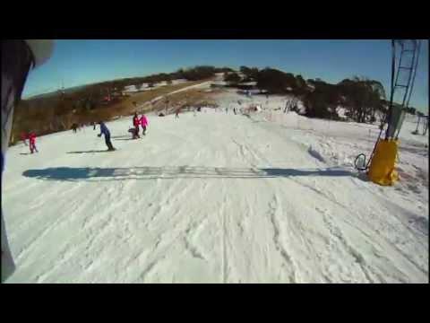 Skiing in Selwyn Snowfields