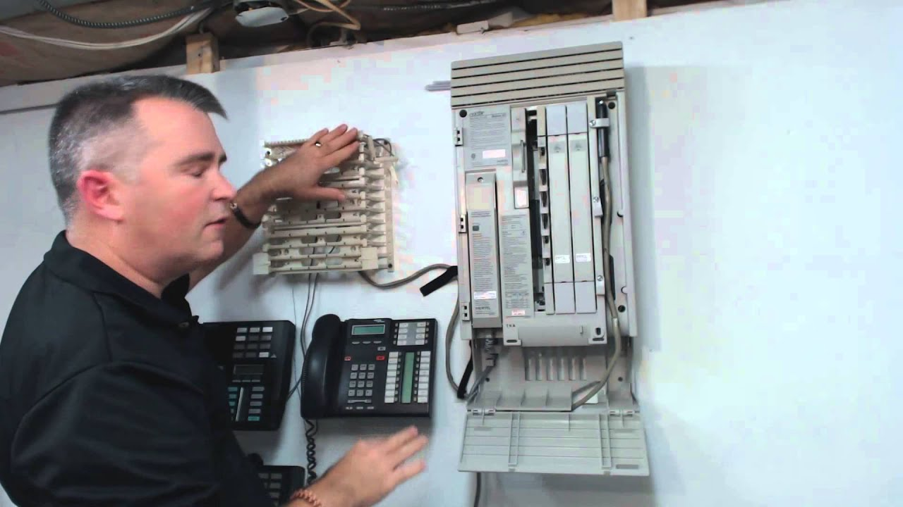 Install Nortel Norstar 0x32 MICS part 2  YouTube