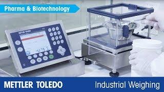 Pesaje en la fabricación de productos farmacéuticos: familia de básculas ICS