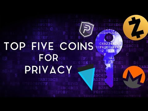Top 5 Coins for Private Transactions