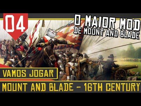 Mount & Blade 16th Century #04 - Batalha Naval e Piratas Samurai [Série Gameplay Português PT-BR]