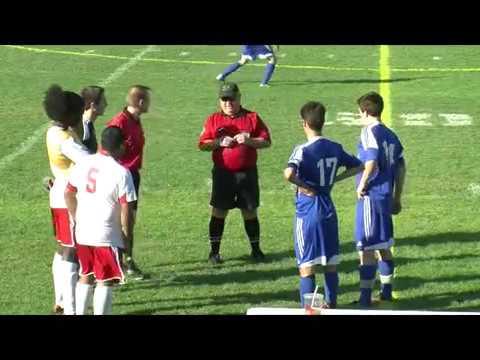 Acton Boxborough Varsity Boys Soccer Waltham 10/8/14