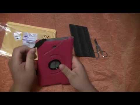 Посылка из Китая №61 Чехол для планшета Asus FonePad 7 дюймовый ME372CG ME372