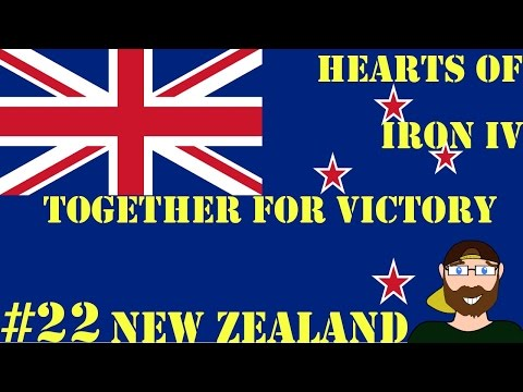 Hearts of Iron IV Together for Victory New Zealand #22 |