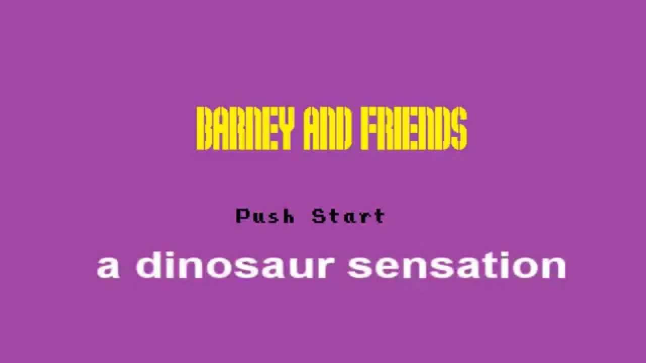 barney u0026 friends 8bit remix youtube