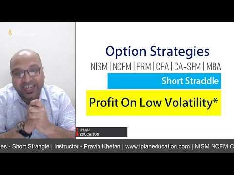 Option Strategies – Short Straddle | CFA, FRM, CA-SFM, NISM and NCFM –  आसान तरीका