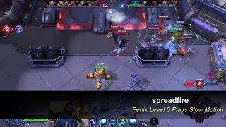 spreadfire Fenix Level 5 Plays in HotS Team League