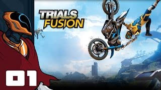 Let's Play Trials Fusion Multiplayer - PC Gameplay Part 1 - Faceplants Galore