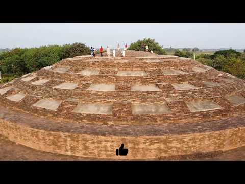 Buddha Stupa - Nelakondapally | Aerial view with Dji Mavic Mini
