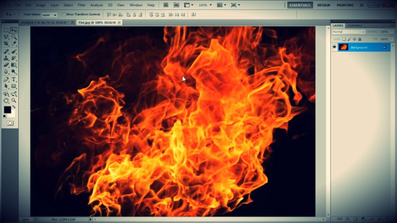 How to make a flame 31