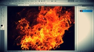How to Make Fire Text in Photoshop