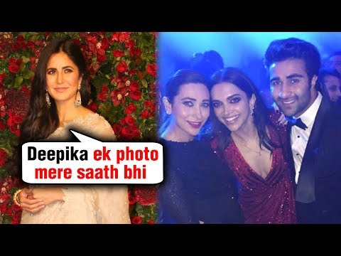Deepika Padukone IGNORES Katrina Kaif At Reception Party | #DeepVeer