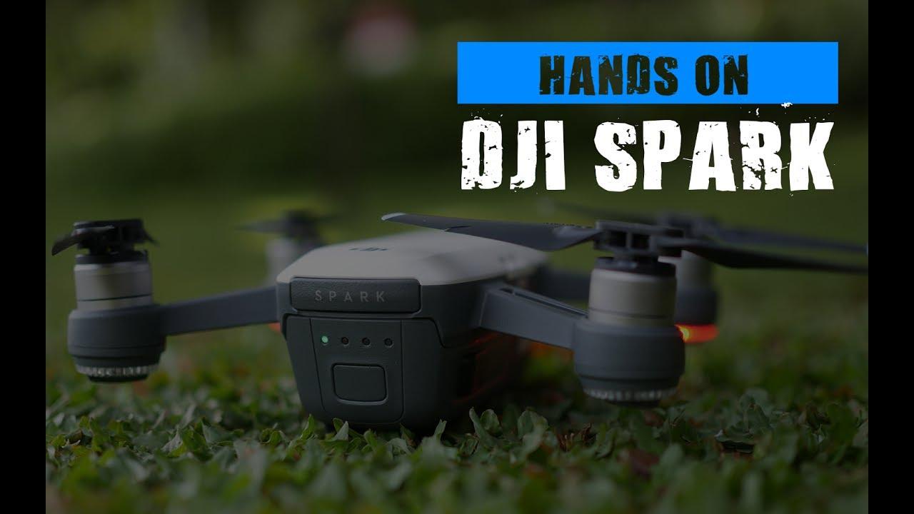 DJI Spark Indonesia : Drone untuk semua usia - YouTube