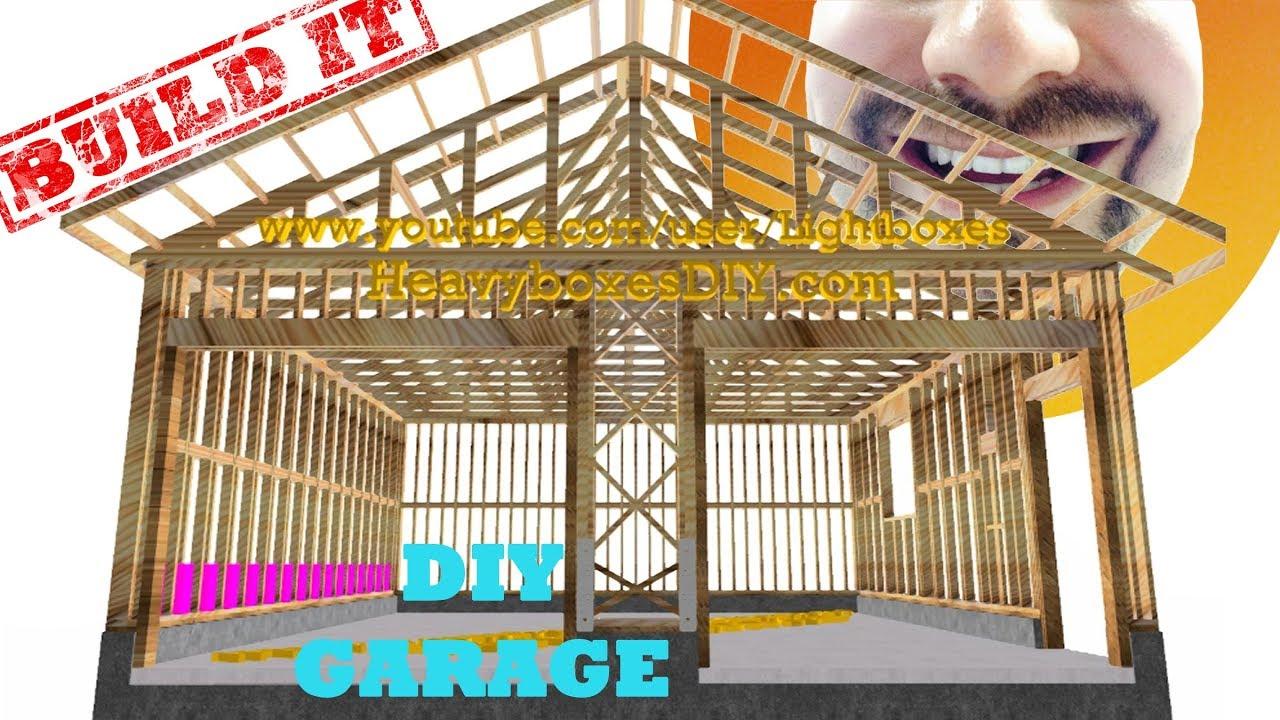 Garage Build   Framing | BUILD IT | How To Frame A Garage