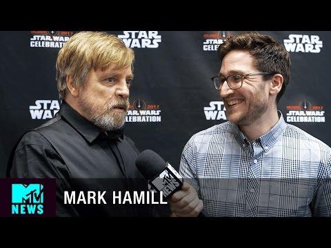 Mark Hamill on 'Star Wars: The Last Jedi' & 'The Empire Strikes Back' | MTV News