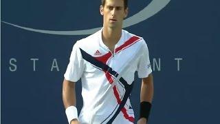 2 - First Grand Slam Final - Djokovic vs Federer - US open 2007 - Full Match