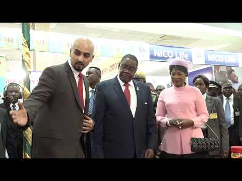 President of Republic of Malawi visits Rab Group Pavilion at the International Trade Fair 2017