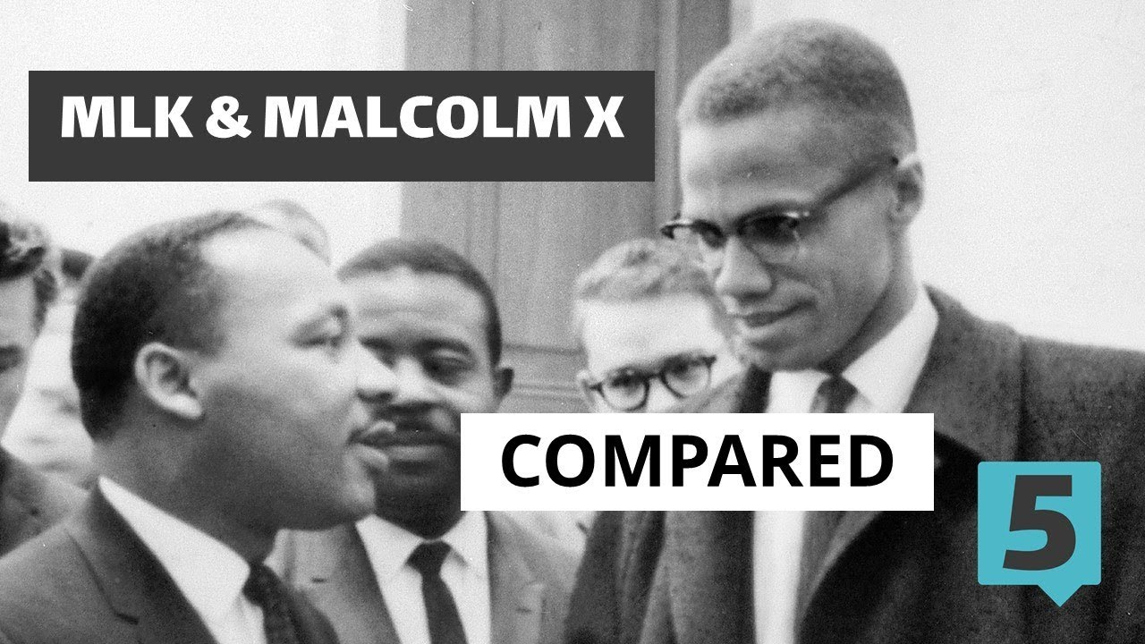 Martin Luther King and Malcolm X Compared