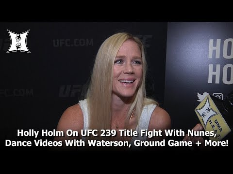 holly-holm-on-ufc-239-title-fight-with-nunes,-dance-videos-with-waterson,-her-ground-game-+-more!